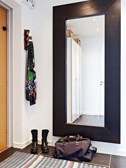 Фотография: Прихожая в стиле Современный, Малогабаритная квартира, Квартира, Швеция, Дома и квартиры – фото на InMyRoom.ru