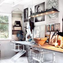 Фотография: Офис в стиле Кантри, Скандинавский, Современный, Эклектика – фото на InMyRoom.ru