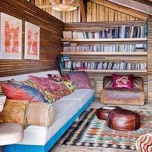 Фотография: Гостиная в стиле Восточный, Эклектика, Кухня и столовая, Дизайн интерьера – фото на InMyRoom.ru