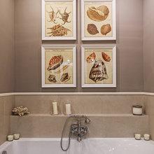 Фотография: Ванная в стиле Кантри, Квартира, Проект недели, Наталья Сорокина – фото на InMyRoom.ru