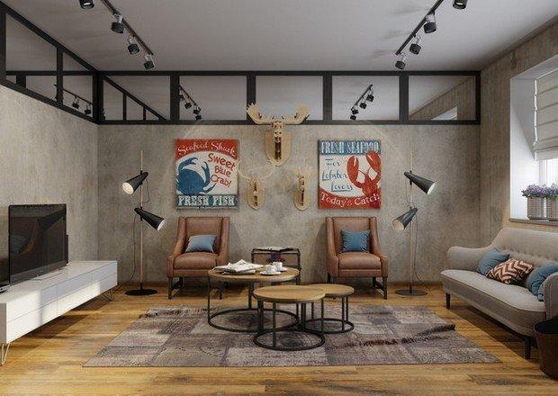 Световые панели в интерьере квартиры
