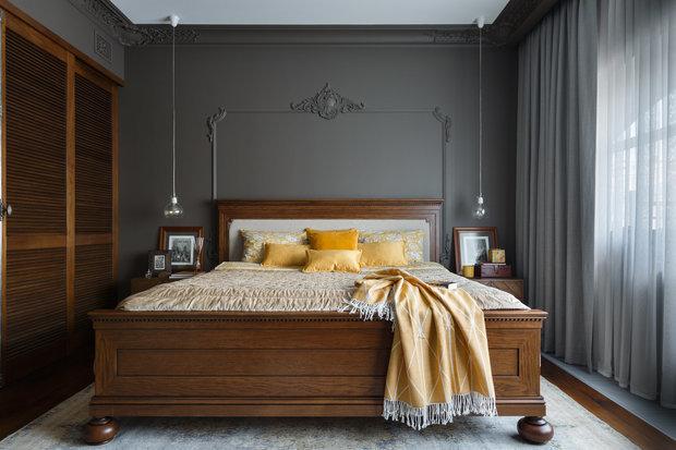 Фотография: Спальня в стиле Классический, Декор интерьера, Советы, Европласт, лепной декор – фото на INMYROOM
