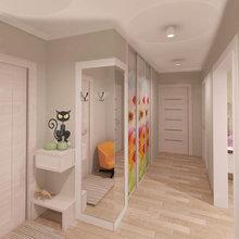 Фото из портфолио дизайн-проект 2-х комнатной квартиры – фотографии дизайна интерьеров на InMyRoom.ru