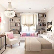 Фотография: Спальня в стиле Современный, Квартира, Дома и квартиры, Надя Зотова – фото на InMyRoom.ru