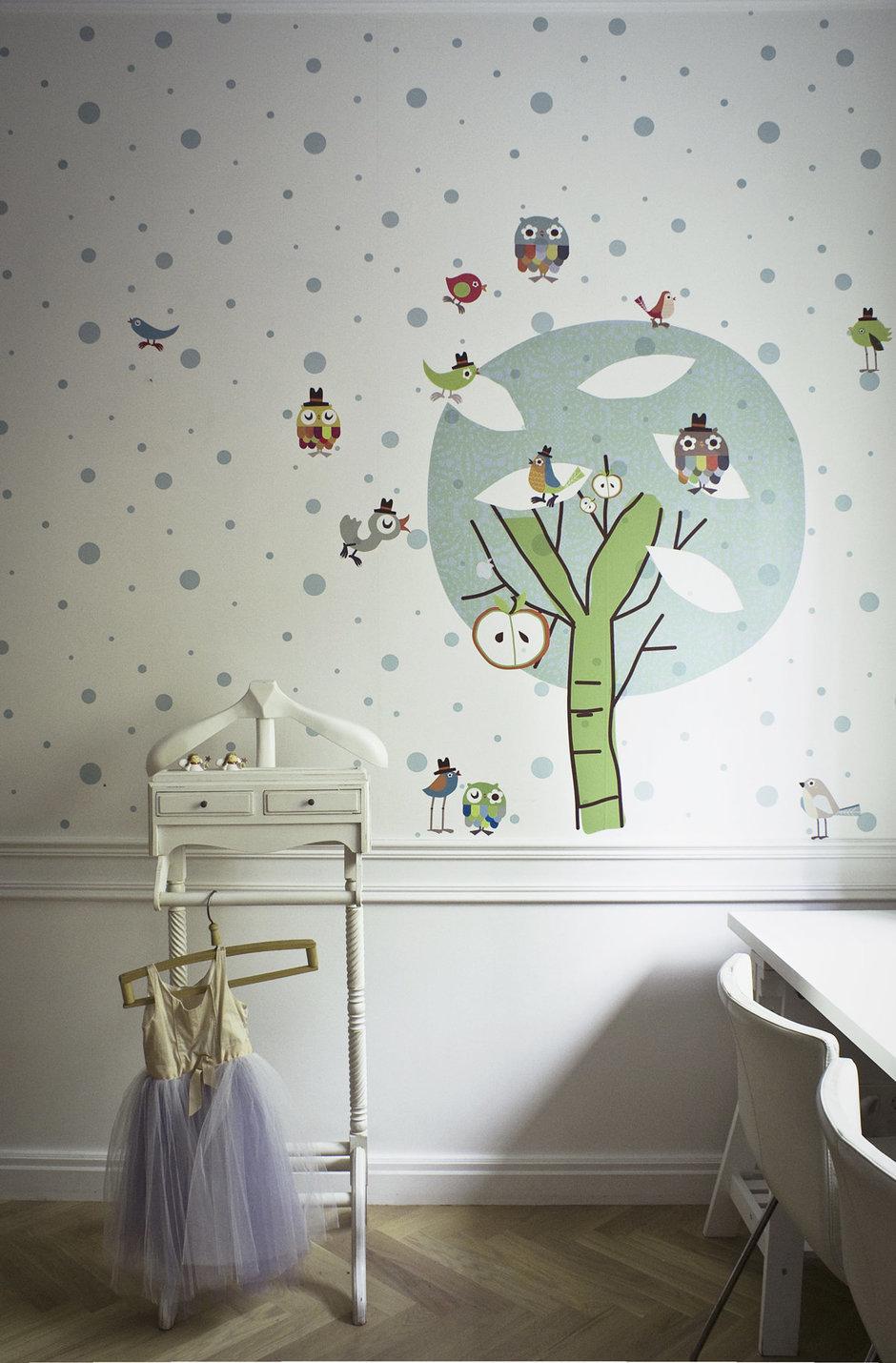 Фотография: Детская в стиле Эклектика, Современный, Квартира, Дома и квартиры, Проект недели – фото на InMyRoom.ru