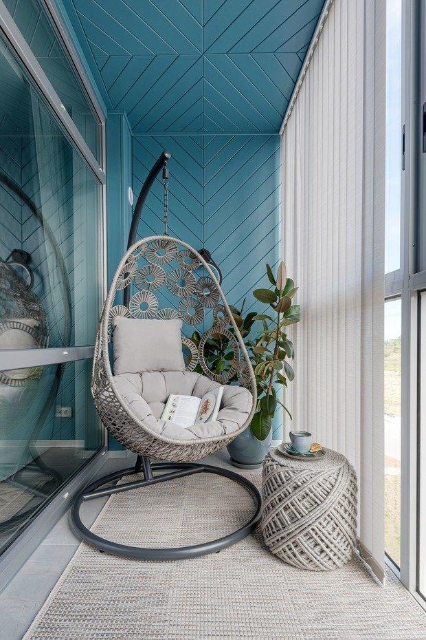 Фотография: Балкон в стиле Современный, Эко, Квартира, Проект недели, 2 комнаты, 40-60 метров, Светлогорск, Виктория Лазарева – фото на INMYROOM