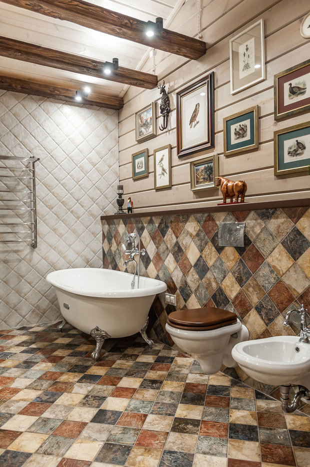 Фото из портфолио Дом с птицами. Дом в стиле английский кантри.  – фотографии дизайна интерьеров на INMYROOM