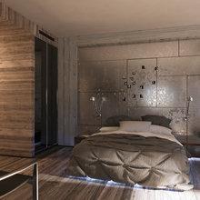 Фото из портфолио Апартаменты Лофт – фотографии дизайна интерьеров на INMYROOM