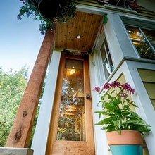 Фотография: Терраса в стиле Кантри, Эко, Малогабаритная квартира, Дом, США, Дома и квартиры, Чердак, Дом на колесах – фото на InMyRoom.ru
