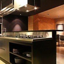 Фотография: Кухня и столовая в стиле Лофт, Квартира, Дома и квартиры, Сан-Паулу – фото на InMyRoom.ru