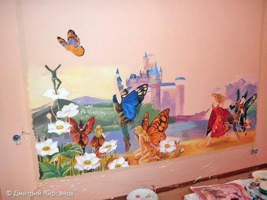 Фотография: Гостиная в стиле Скандинавский, Декор интерьера, DIY, Роспись – фото на InMyRoom.ru
