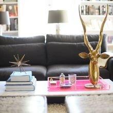 Фотография: Декор в стиле , Гостиная, Декор интерьера, Декор дома, Советы, Стол, Журнальный столик – фото на InMyRoom.ru