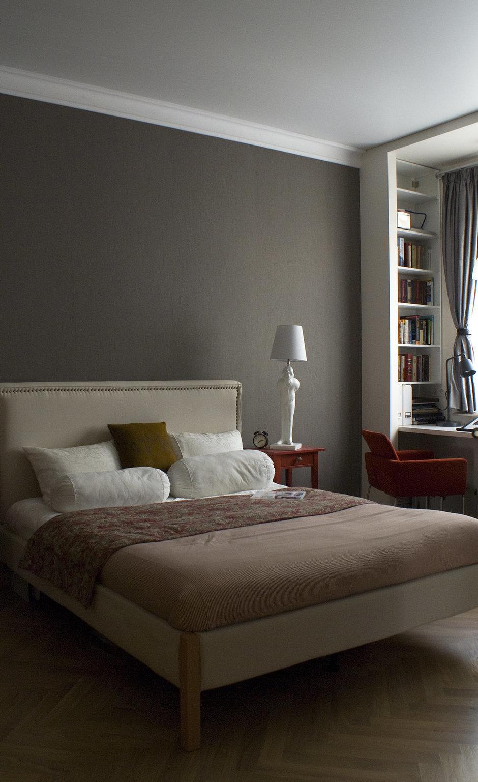 Фотография: Спальня в стиле Хай-тек, Современный, Квартира, Дома и квартиры, Проект недели – фото на InMyRoom.ru