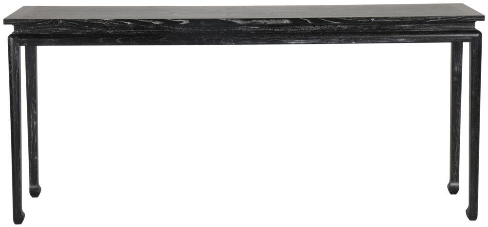Консоль Black Wash черного цвета