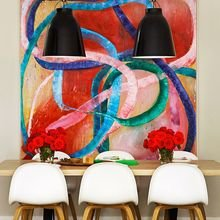 Фотография: Декор в стиле , Декор интерьера, Цвет в интерьере, Текстиль, Картины, Желтый – фото на InMyRoom.ru