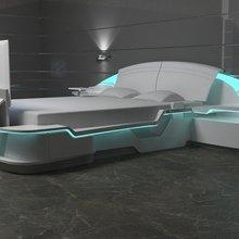 Фотография: Спальня в стиле Хай-тек – фото на InMyRoom.ru