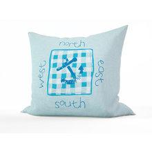 Подушка для детской: Якорь