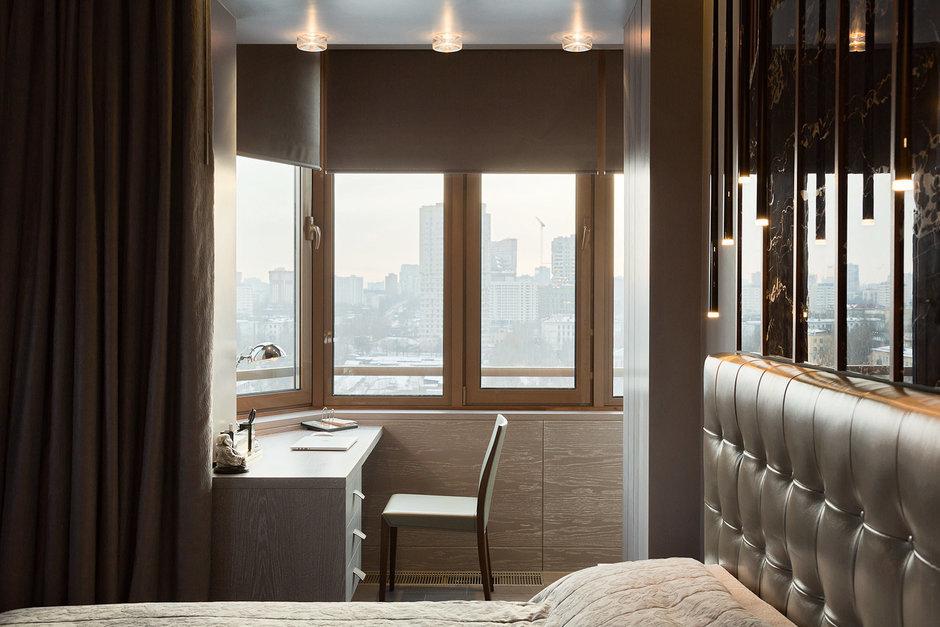 Фотография: Спальня в стиле Лофт, Современный, Квартира, Дома и квартиры, Проект недели, Москва – фото на InMyRoom.ru