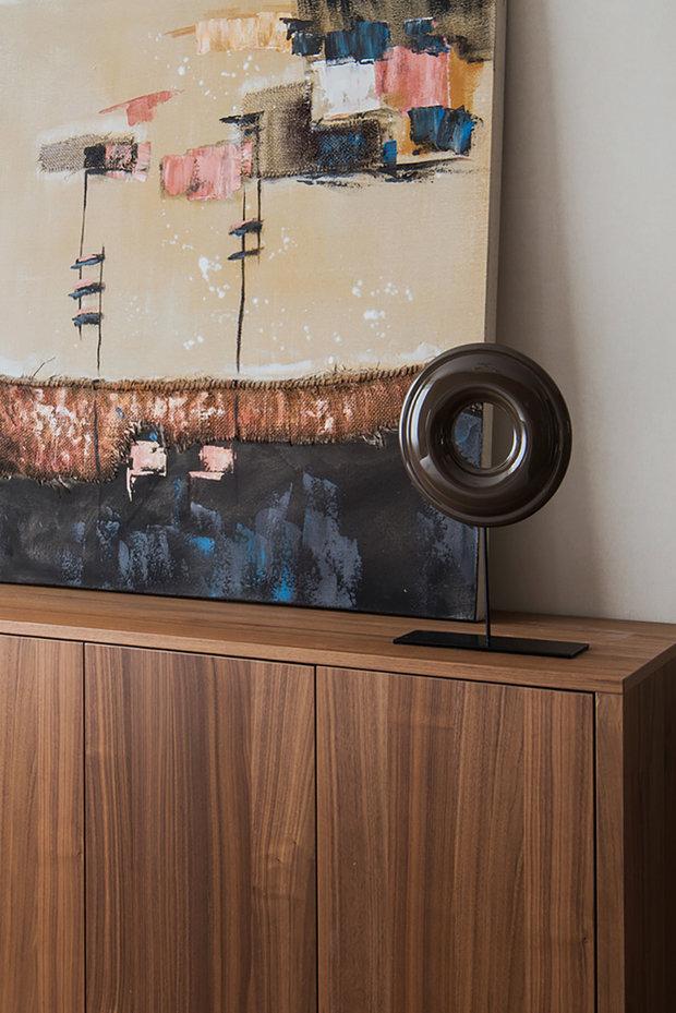 Фотография: Декор в стиле Современный, Квартира, Проект недели, Москва, Панельный дом, 3 комнаты, 40-60 метров, 60-90 метров, Юлия Савонова – фото на INMYROOM
