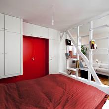 Фотография: Спальня в стиле Современный, Малогабаритная квартира, Квартира, Дома и квартиры, Париж – фото на InMyRoom.ru