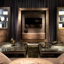 Фотография: Гостиная в стиле Классический, Современный, Индустрия, События, Галерея Neuhaus – фото на InMyRoom.ru