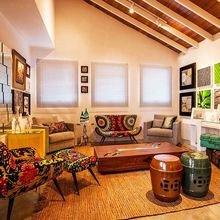 Фотография: Гостиная в стиле Эклектика, Эко, Декор интерьера, Квартира, Дом, Декор – фото на InMyRoom.ru