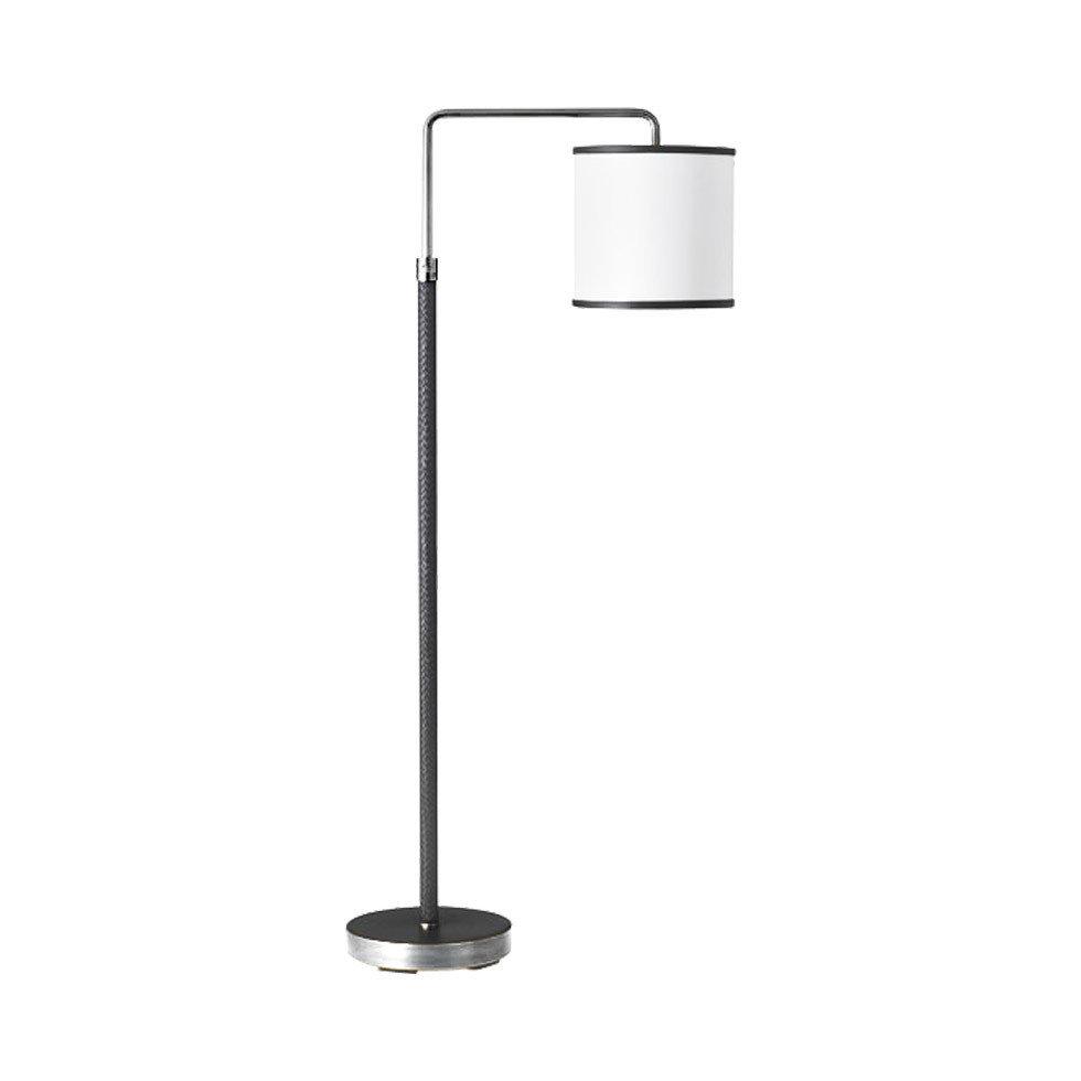 Купить со скидкой Напольная лампа Denley с белым абажуром