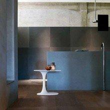Фотография: Ванная в стиле Лофт, Минимализм, Квартира, Цвет в интерьере, Дома и квартиры, B&B Italia – фото на InMyRoom.ru