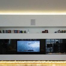 Фотография: Гостиная в стиле Минимализм, Квартира, Дома и квартиры, Москва – фото на InMyRoom.ru