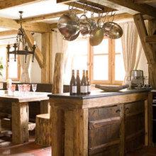 Фотография: Прочее в стиле Кантри, Кухня и столовая, Дизайн интерьера – фото на InMyRoom.ru