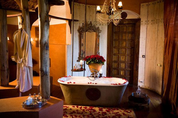 Фотография: Ванная в стиле Прованс и Кантри, Классический, Современный, Дом, Дома и квартиры – фото на InMyRoom.ru