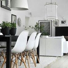 Фотография: Кухня и столовая в стиле Лофт, Скандинавский, Декор интерьера, Дизайн интерьера, Цвет в интерьере – фото на InMyRoom.ru