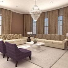 Фото из портфолио Проекты студии I.See design – фотографии дизайна интерьеров на InMyRoom.ru