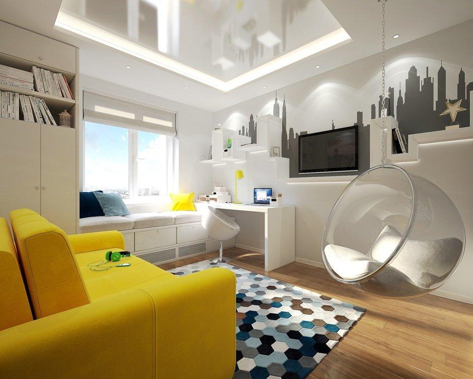 Фотография: Детская в стиле Современный, Хай-тек, Квартира, Дома и квартиры, IKEA, Проект недели, Москва – фото на InMyRoom.ru