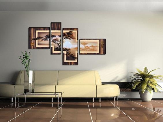 Фотография: Гостиная в стиле Современный, Декор интерьера, Декор дома, Картины – фото на InMyRoom.ru
