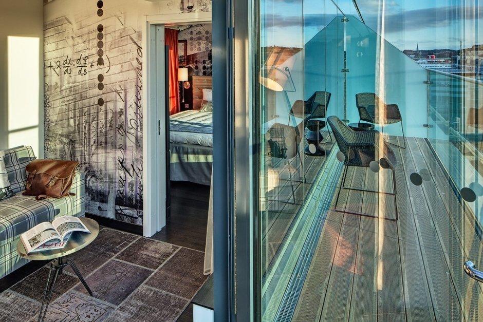 Фотография: Балкон, Терраса в стиле Современный, Декор интерьера, Дома и квартиры, Городские места, Отель, Проект недели – фото на InMyRoom.ru