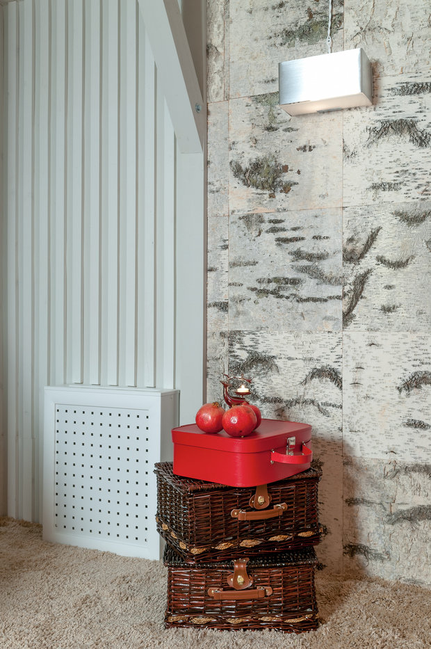 Фотография: Декор в стиле Скандинавский, Гостиная, Интерьер комнат, Мансарда – фото на InMyRoom.ru