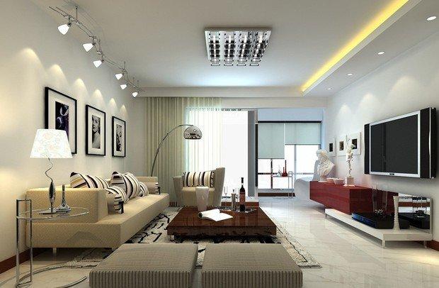 Фотография: Гостиная в стиле Современный, Интерьер комнат – фото на InMyRoom.ru