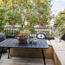 Фото из портфолио Просторная квартира в 2-х уровнях с прекрасной террасой. – фотографии дизайна интерьеров на INMYROOM