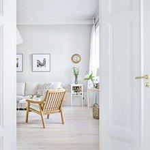 Фото из портфолио Квартира в белом цвете: эталон скандинавского стиля – фотографии дизайна интерьеров на INMYROOM