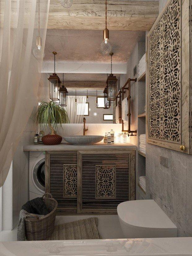 Фотография: Ванная в стиле Восточный, Декор интерьера, Советы – фото на INMYROOM