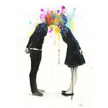 "Принт ""Bang Bang Kiss"" by Lora Zombie"