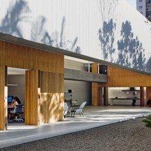 Фотография: Терраса в стиле Эко, Офисное пространство, Офис, Дома и квартиры, Минимализм, Сан-Паулу – фото на InMyRoom.ru