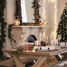 Фотография: Гостиная в стиле Скандинавский, Декор интерьера, Новый Год, HOFF – фото на InMyRoom.ru