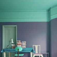 Фотография: Мебель и свет в стиле Кантри, Декор интерьера, Декор дома, Цвет в интерьере, Обои – фото на InMyRoom.ru