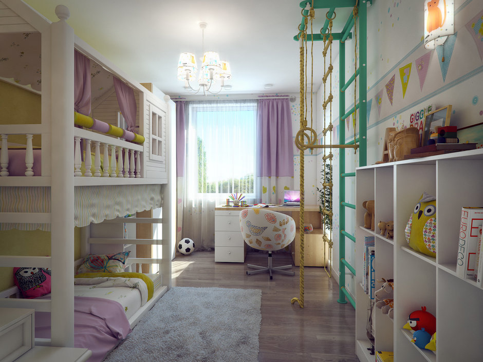 Фотография: Детская в стиле Современный, Квартира, Дома и квартиры, IKEA, Проект недели – фото на InMyRoom.ru