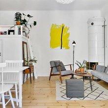Фото из портфолио Балкон + кафельная ПЕЧЬ!!!! – фотографии дизайна интерьеров на INMYROOM