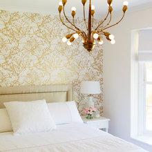 Фотография: Спальня в стиле Кантри, Интерьер комнат, Цвет в интерьере – фото на InMyRoom.ru