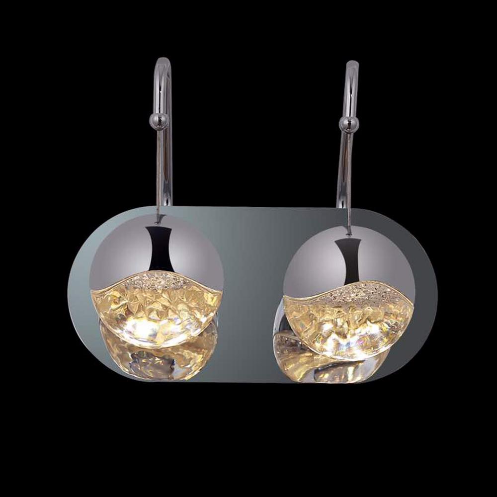 Купить Настенный светильник из металла и прозрачного стекла, inmyroom, Китай