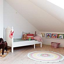 Фотография: Детская в стиле Скандинавский, Квартира, Швеция, Цвет в интерьере, Дома и квартиры, Белый, Черный – фото на InMyRoom.ru